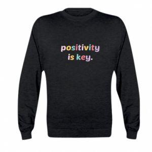 Bluza dziecięca Positivity is key