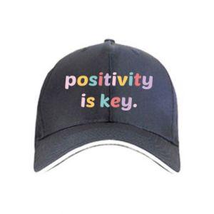 Czapka Positivity is key