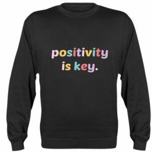 Bluza Positivity is key