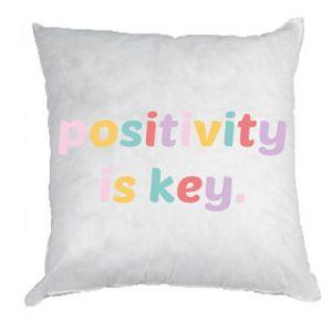 Poduszka Positivity is key