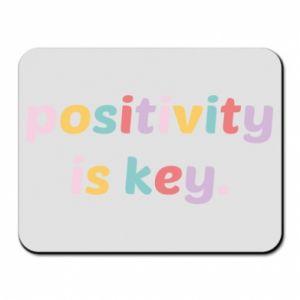 Podkładka pod mysz Positivity is key