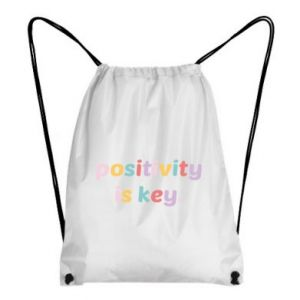 Plecak-worek Positivity is key