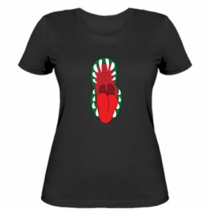 Women's t-shirt Monster jaw