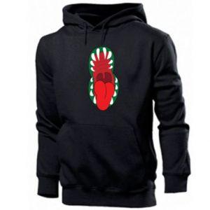 Men's hoodie Monster jaw