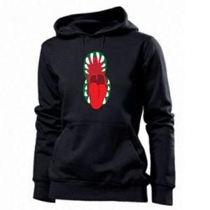 Women's hoodies Monster jaw