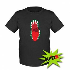Kids T-shirt Monster jaw