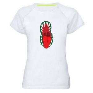 Women's sports t-shirt Monster jaw