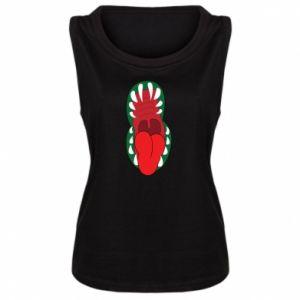 Damska koszulka Szczęka potwora - PrintSalon