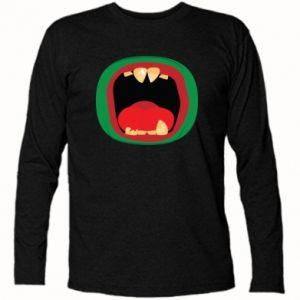 Koszulka z długim rękawem Potwór - PrintSalon