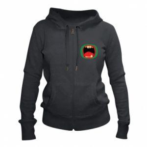 Women's zip up hoodies Monster