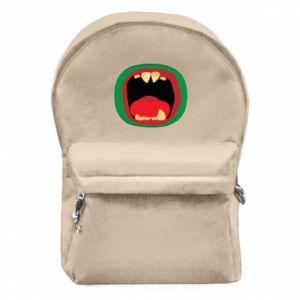 Plecak z przednią kieszenią Potwór