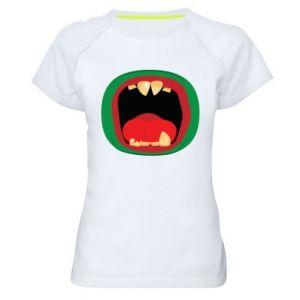 Koszulka sportowa damska Potwór