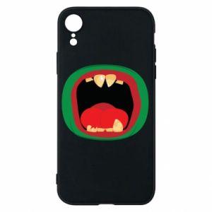 Etui na iPhone XR Potwór
