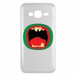 Etui na Samsung J3 2016 Potwór