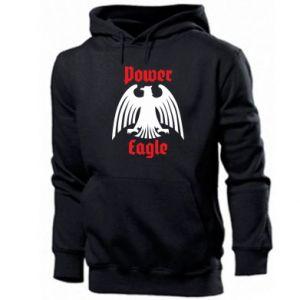 Męska bluza z kapturem Power eagle
