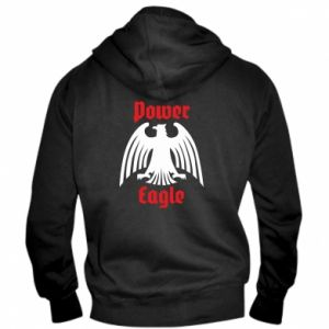 Męska bluza z kapturem na zamek Power eagle