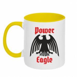 Kubek dwukolorowy Power eagle