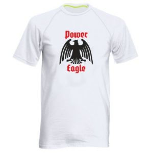 Męska koszulka sportowa Power eagle
