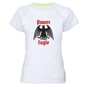 Damska koszulka sportowa Power eagle