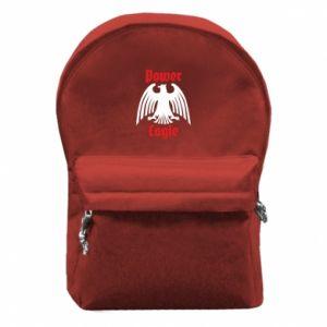 Plecak z przednią kieszenią Power eagle