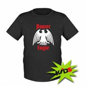 Dziecięcy T-shirt Power eagle