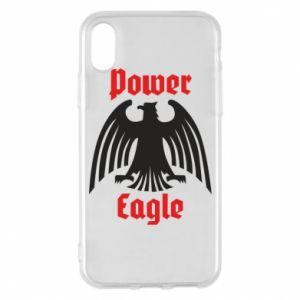 Etui na iPhone X/Xs Power eagle
