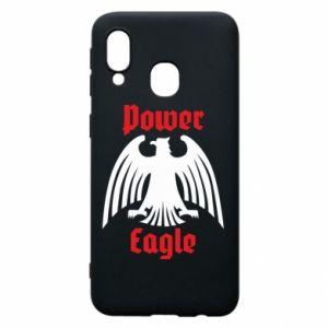 Etui na Samsung A40 Power eagle