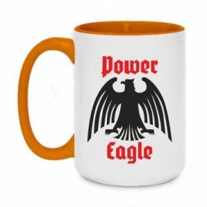 Kubek dwukolorowy 450ml Power eagle