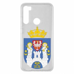 Etui na Xiaomi Redmi Note 8 Poznań herb