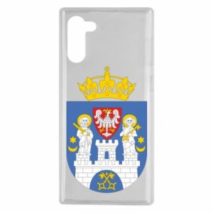 Samsung Note 10 Case Poznan coat of arms
