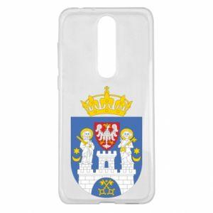 Etui na Nokia 5.1 Plus Poznań herb