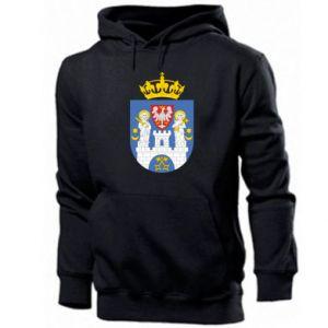 Bluza z kapturem męska Poznań herb