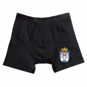 Boxer trunks Poznan coat of arms