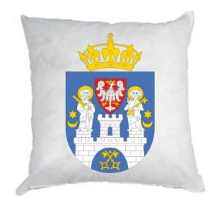 Poduszka Poznań herb