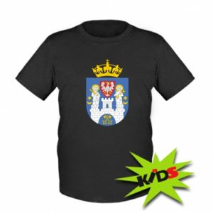 Koszulka dziecięca Poznań herb