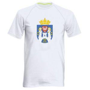 Koszulka sportowa męska Poznań herb