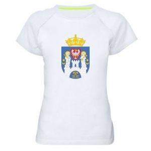 Koszulka sportowa damska Poznań herb
