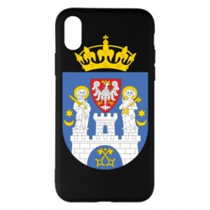 Phone case for iPhone X/Xs Poznan coat of arms