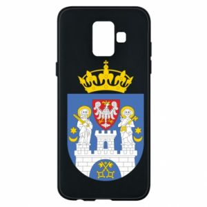 Phone case for Samsung A6 2018 Poznan coat of arms