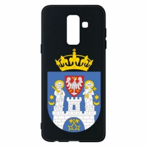 Phone case for Samsung A6+ 2018 Poznan coat of arms