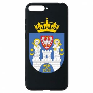 Phone case for Huawei Y6 2018 Poznan coat of arms