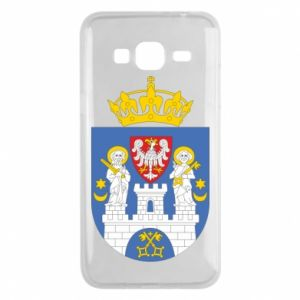 Phone case for Samsung J3 2016 Poznan coat of arms