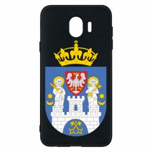 Phone case for Samsung J4 Poznan coat of arms