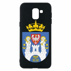 Phone case for Samsung J6 Poznan coat of arms