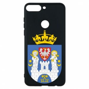 Phone case for Huawei Y7 Prime 2018 Poznan coat of arms