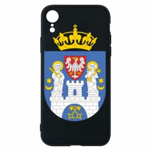 Phone case for iPhone XR Poznan coat of arms