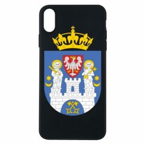 Phone case for iPhone Xs Max Poznan coat of arms