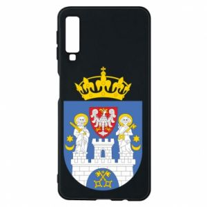 Phone case for Samsung A7 2018 Poznan coat of arms