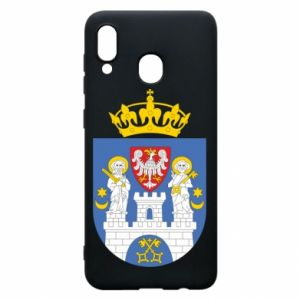 Phone case for Samsung A20 Poznan coat of arms