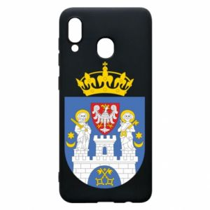 Phone case for Samsung A30 Poznan coat of arms